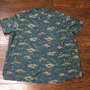 Foundry Supply Co Men's Island Shirt 2XL